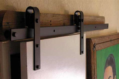 barn door track and hardware barn door hardware kits from agave ironworks