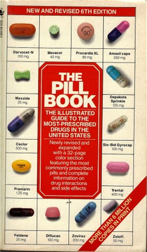 pill book with pictures the pill book