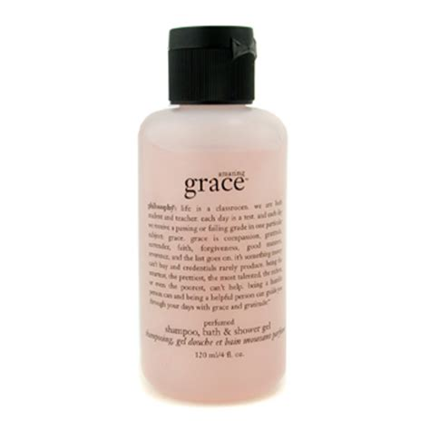 philosophy amazing grace shoo bath shower gel amazing grace perfumed shoo bath shower gel by