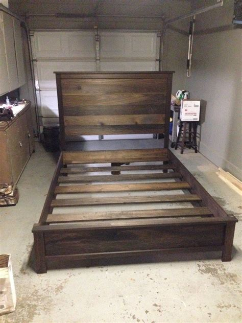 make king bed frame best 25 diy headboards ideas on