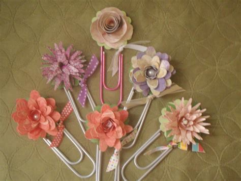 newspaper craft projects you to see paper flower bookmarks by brown2936 gmail