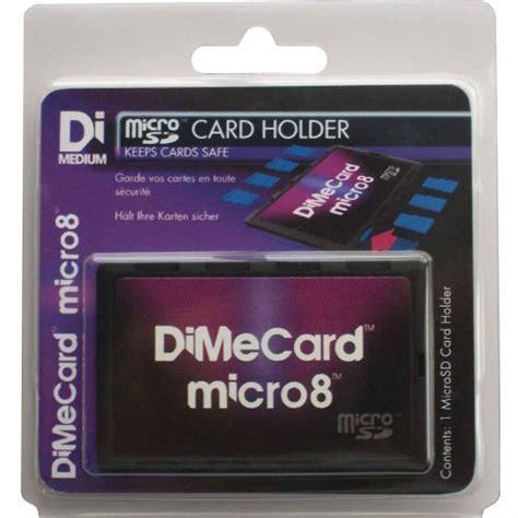 how to make sd card writable dimecard micro8 microsd memory card holder ultra thin
