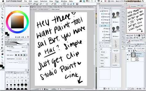 paint tool sai alternatives paint tool sai alternative clip studio paint by