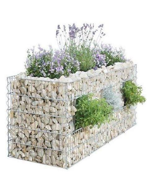 wall garden baskets 15 gabion garden landscaping ideas houz buzz