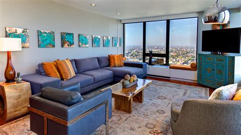 blue and brown home decor 15 stunning living room designs with brown blue and