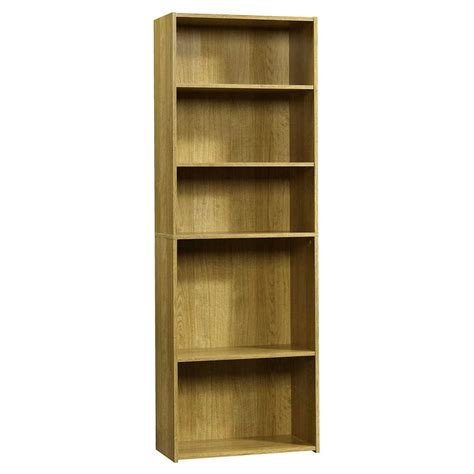 sauder bookcase 5 shelf sauder beginnings collection 71 in 5 shelf bookcase in