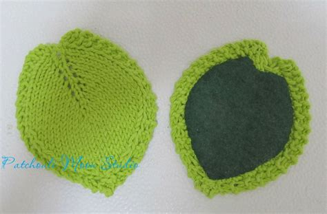 knitted coaster pattern free patchouli moon studio knitted leaf coasters