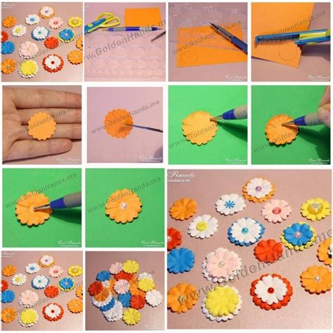 do it yourself paper crafts how to make easy paper flowers step by step diy tutorial