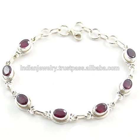 silver for jewelry wholesale 925 sterling silver jewelry wholesale bracelet indian ruby