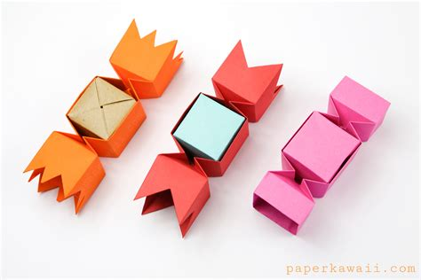 origami of square origami box paper kawaii
