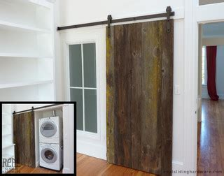 barn door hardware seattle custom rustic plank barn doors traditional laundry