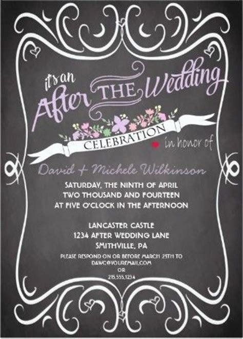 after invitations 17 best ideas about wedding after on
