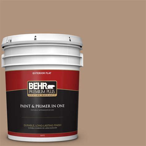 behr exterior paint primer colors behr premium plus 5 gal ppu4 04 soft chamois flat
