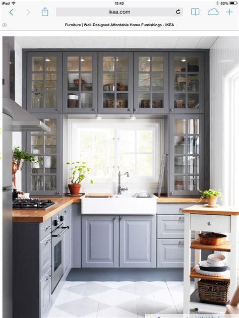 ikea grey kitchen cabinets ikea grey kitchen the kitchen kitchens