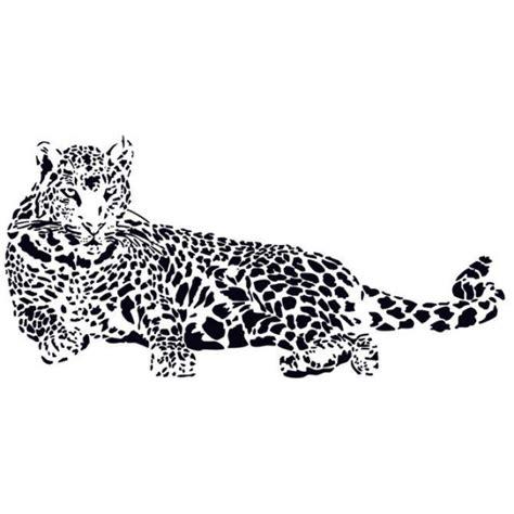 leopard wallsticker 110x52cm