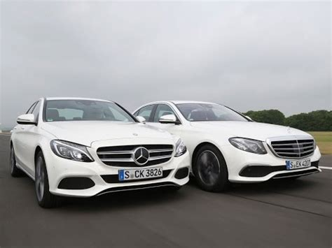 Mercedes Vs Mercedes by Mercedes E Class Vs Mercedes C Class