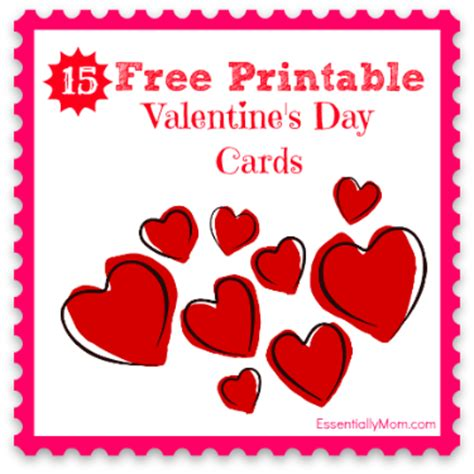valentines day cards to make and print 15 free printable s cards for
