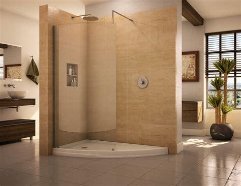 bathroom walk in shower designs doorless shower designs teach you how to go with the flow
