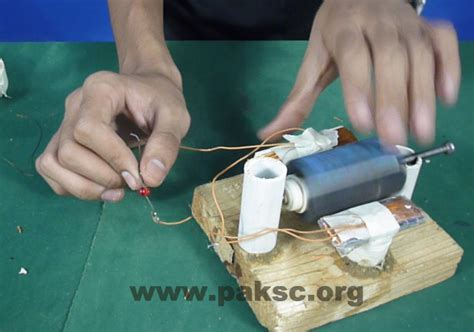 ac craft projects diy project make your own simple ac generator dostem