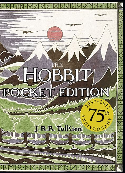 the hobbit book pictures the hobbit pocket edition to celebrate its 75th anniversary