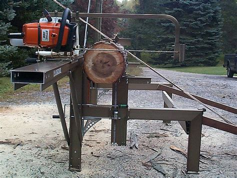 woodworking mill chainsaw mills log beds the logosol m7 portable sawmill