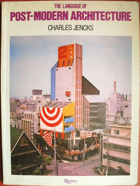 postmodern picture books the language of post modern architecture by charles jencks