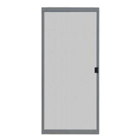 patio door screens home depot unique home designs 36 in x 80 in standard grey metal