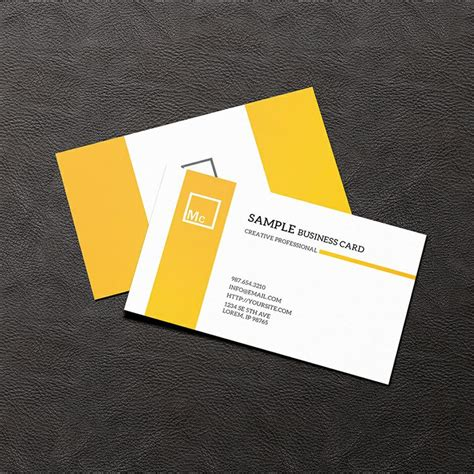 how to make presentation cards free business card mock up business card free mockup