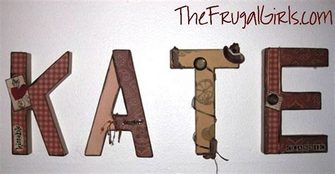paper craft letters paper mache letters craft diy personalized name