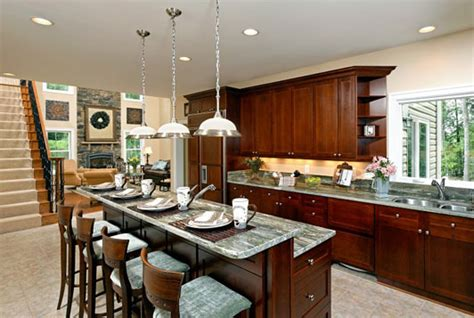kitchen with breakfast bar designs made of metal kitchen islands with breakfast bars