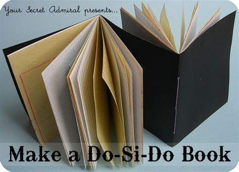 how to make a book how tuesday make a do si do book etsy journal