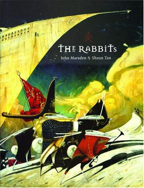 the rabbits picture book analysis the rabbits by marsden shaun 4mm