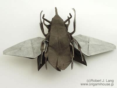 origami insects 2 おりがみはうす 折紙図鑑 昆虫 2