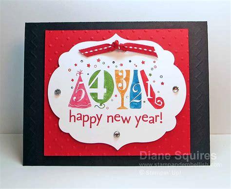 new year card handmade happy new year happy new year handmade card
