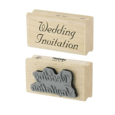 personal impressions rubber sts personal impressions wedding invitation rubber st