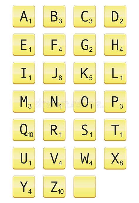 da scrabble lettere di scrabble fotografia stock immagine 18857340