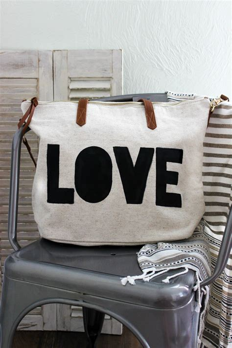 acrylic paint for canvas bags diy painted graphic tote bag