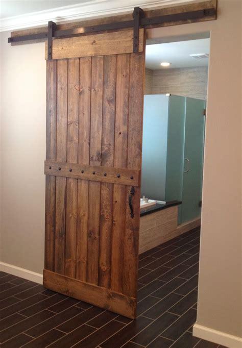 barn doors for homes interior reclaimed wood interior barn door for home bathroom decofurnish