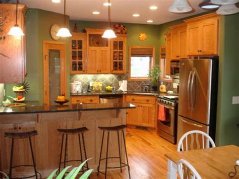 paint colors for a kitchen with oak cabinets best paint colors for kitchens with oak cabinets