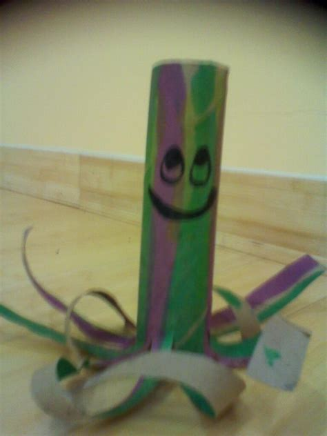 crafts with paper towel rolls paper towel roll octopus craft