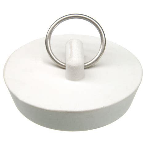 kitchen sink stoppers 1 3 4 in rubber drain stopper in white 1 per card danco