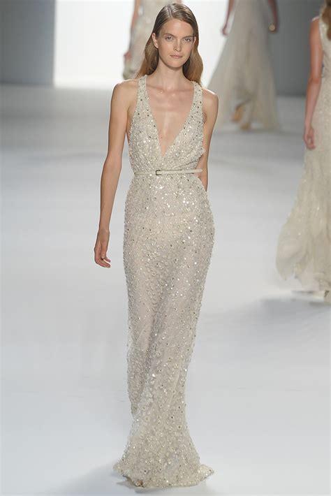 beaded gown wedding dresses v neck elie saab beaded wedding dress onewed
