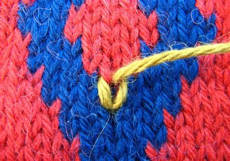 duplicate stitch knitting duplicate stitch knitting tutorials
