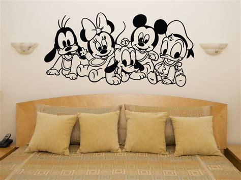 disney nursery wall decals wall decal mickey and minnie wall decals mickey and
