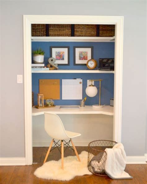 closet desks quot closet desk quot makeover hometalk