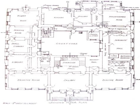 large mansion floor plans historic mansions floor plans
