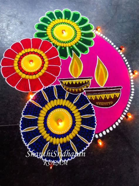 rangoli craft for best 25 diwali rangoli ideas on beautiful