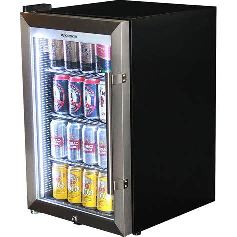 glass door bar fridge schmick tropical glass door mini bar fridge 70 litre