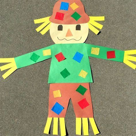 easy kid crafts for best 25 scarecrow crafts ideas on fall kid