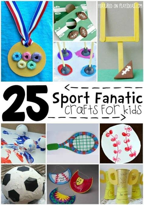 sports crafts for 25 best ideas about sports crafts on